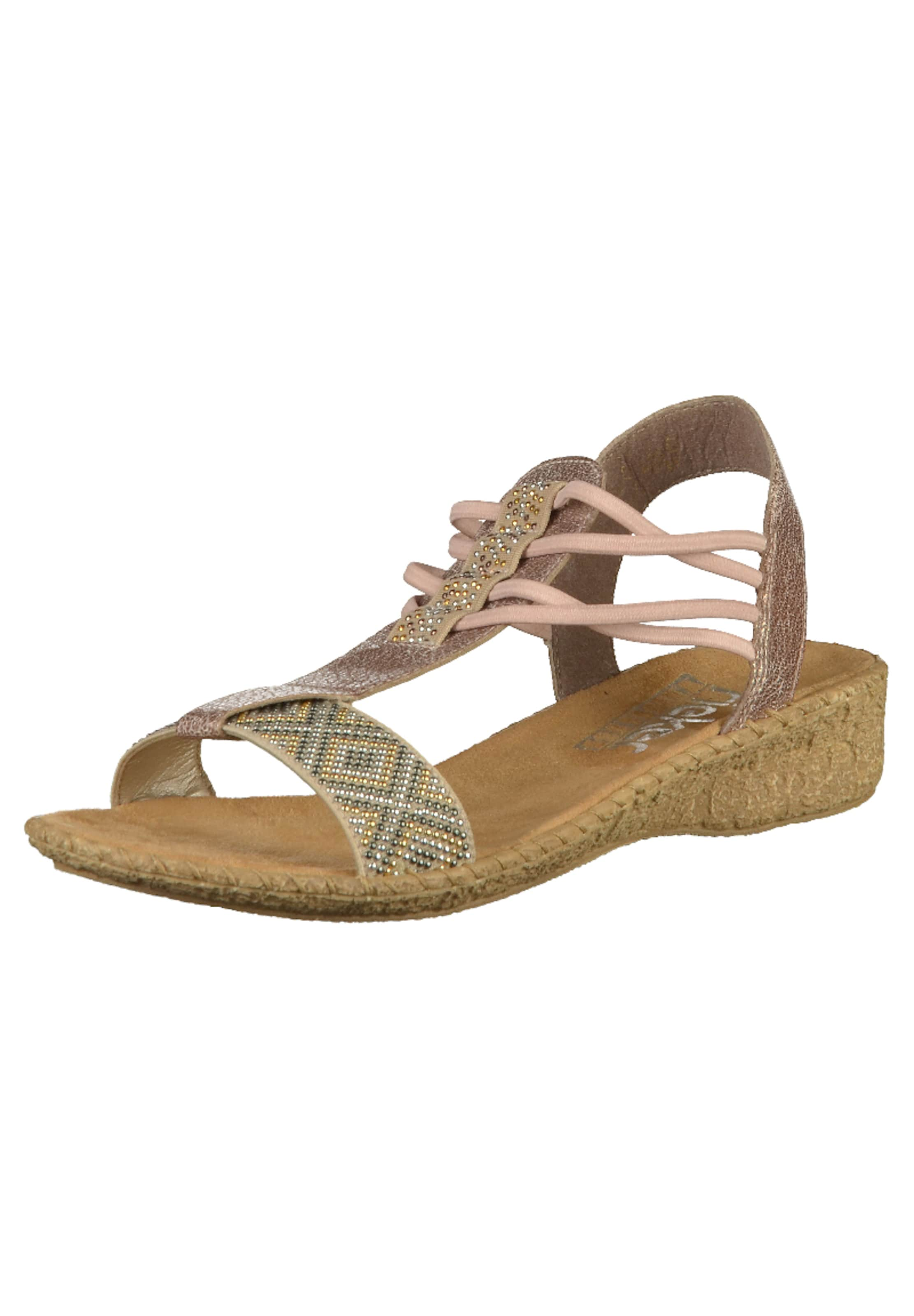 Sandales Rieker Avec Ceinture « Sandale » Beige vsXi4jnxw