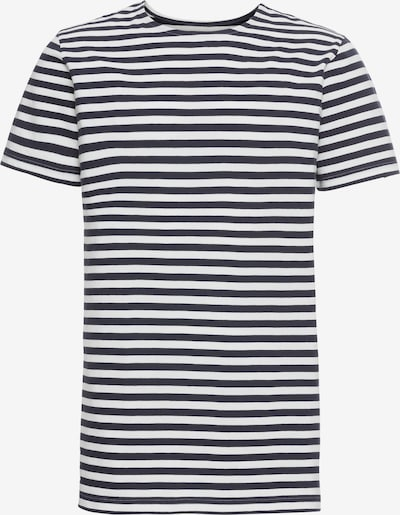 tengerészkék / fehér Urban Classics Póló 'Stripe Tee', Termék nézet