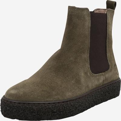 Ca Shott Chelsea Boots in kastanienbraun / oliv, Produktansicht