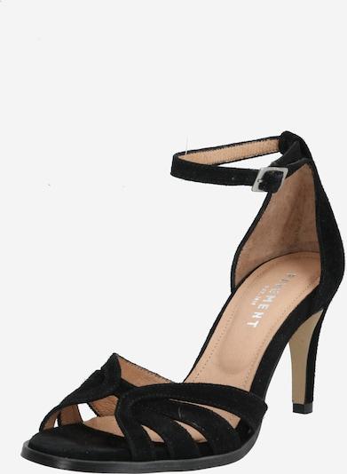 PAVEMENT Sandalen met riem 'Melissa' in de kleur Zwart, Productweergave