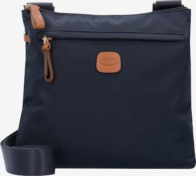Bric's Sac à bandoulière 'X-Bag ' en bleu marine / marron, Vue avec produit