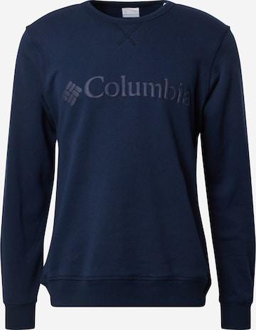 COLUMBIA Sweatshirt in Blau