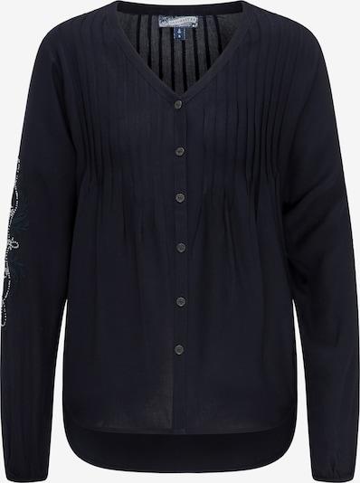 DREIMASTER Bluse in kobaltblau, Produktansicht