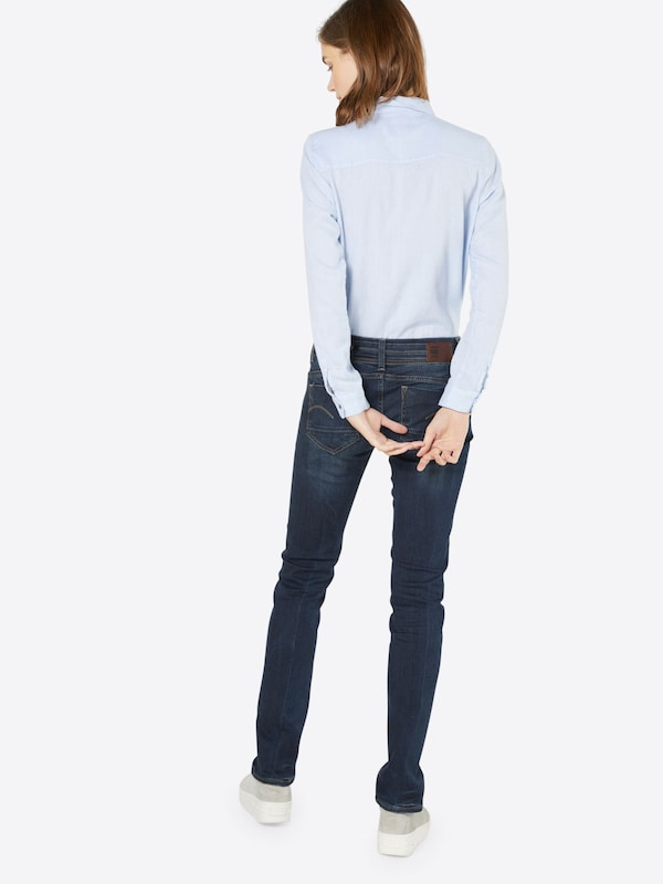 G-STAR RAW 'Midge Saddle Mid Straight' Jeans