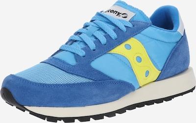 saucony Sneaker 'JAZZ' in blau / dunkelblau / gelb, Produktansicht