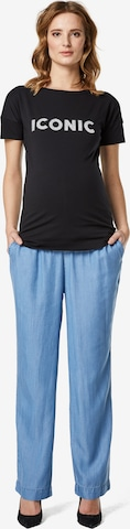 Supermom Shirt ' Tee Slogan ' in Black