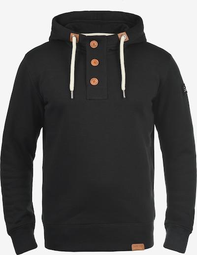 !Solid Hoodie 'TripStrip' in schwarz, Produktansicht
