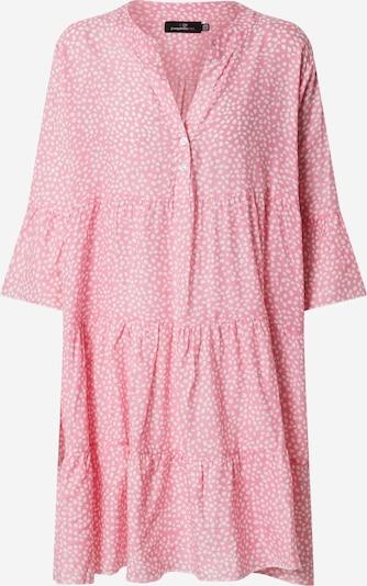 Zwillingsherz Kleid 'Eva' in pink / weiß, Produktansicht