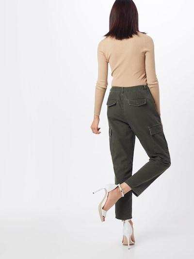 Laisvo stiliaus kelnės 'onlKOMBAT MID CARGO PANTS PNT' iš ONLY , spalva - tamsiai pilka: Vaizdas iš galinės pusės