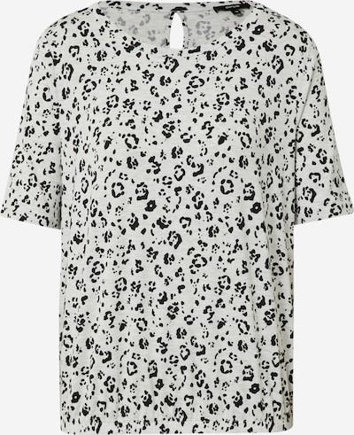 OPUS Shirt 'Siana' in hellgrau / graumeliert / schwarz, Produktansicht