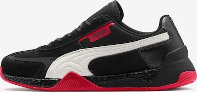PUMA Sneaker 'Ferrari Speed Hybrid LS' in rot / schwarz / weiß: Frontalansicht