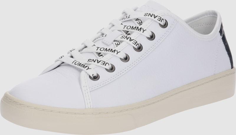 TOMMY HILFIGER aus Niedrig Top Sneaker 'LIGHT' aus HILFIGER Glattleder 0fc5d4