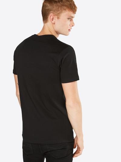 Mister Tee T-Shirt 'LA Rose' in mischfarben / schwarz: Rückansicht