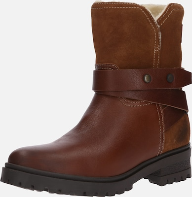 Tommy Jeans Boots in Cognac