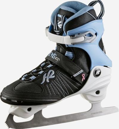 K2 Schlittschuhe 'Alexis Ice FB' in hellblau / schwarz, Produktansicht