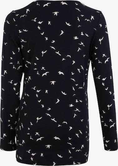 Noppies T-shirt 'Rosalyn' en bleu nuit / blanc: Vue de dos
