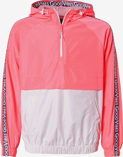 STACCATO Windbreaker in pink / weiß, Produktansicht