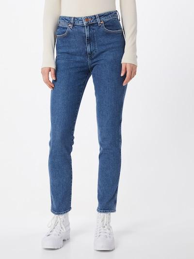 WRANGLER Jeans 'RETRO' in blue denim, Modelansicht