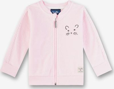Sanetta Kidswear Sweatjacke in pastellpink / weinrot, Produktansicht