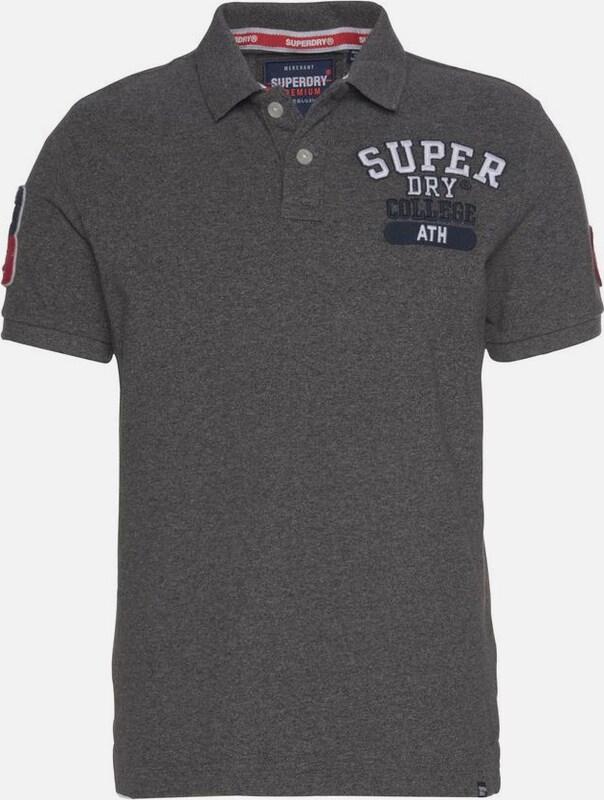 Superdry Poloshirt in grau  Neuer Aktionsrabatt