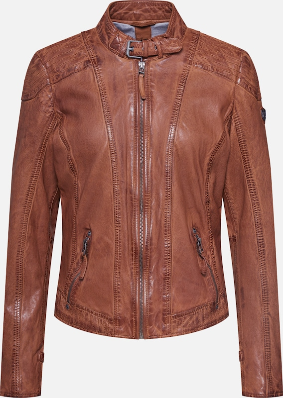 Gipsy Jacke 'Pacey' in cognac, Produktansicht