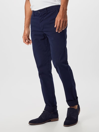 UNITED COLORS OF BENETTON Kalhoty - tmavě modrá, Model/ka