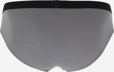 SCHIESSER Slip in grau: Rückansicht
