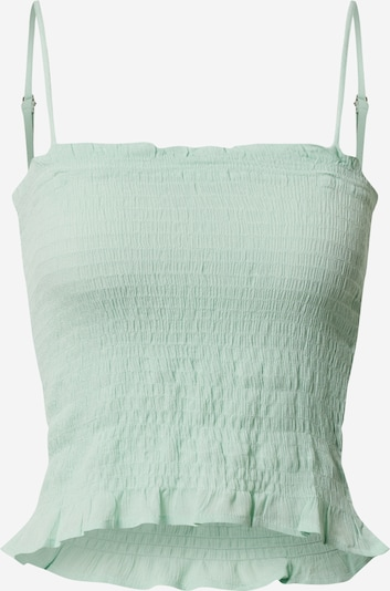 JACQUELINE de YONG Top 'TIM SMOCK' in Pastelgroen hPvyIc9w