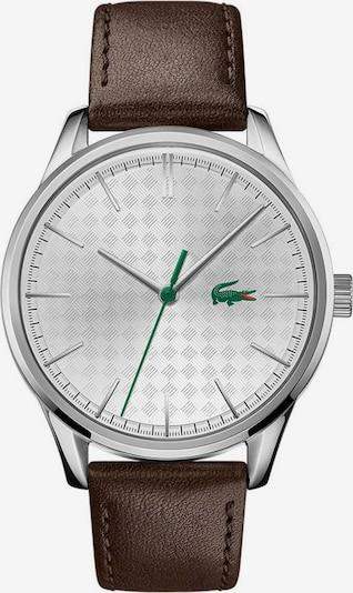 LACOSTE Uhr in dunkelbraun / silber, Produktansicht