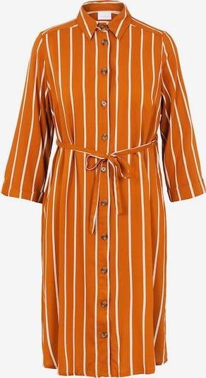 MAMALICIOUS Robe en orange foncé / blanc, Vue avec produit