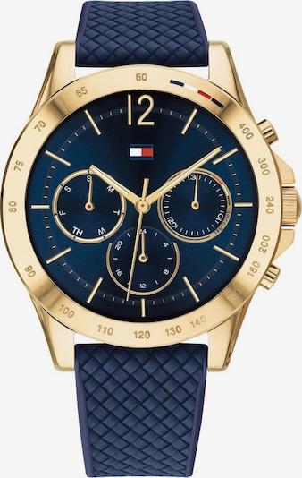TOMMY HILFIGER Uhr in marine / gold, Produktansicht