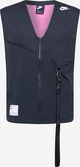 Nike Sportswear Gilet en noir, Vue avec produit