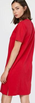 ae04d4ce91b1e9 on sale Calvin Klein Jeans Jurk  DOON  in Rood   Wit ...