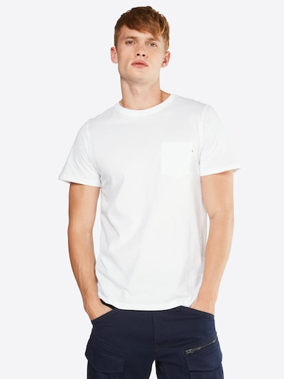 JACK & JONES Shirt in weiß: Frontalansicht