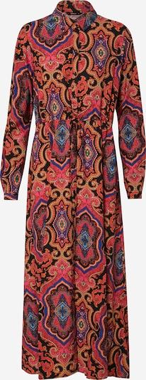 ONLY Zomerjurk 'ONLBETTY L/S MID CALF SHIRT DRESS WVN' in de kleur Gemengde kleuren / Pink, Productweergave