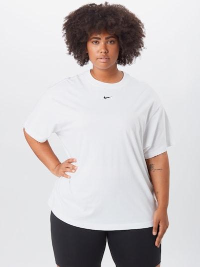 NIKE Koszulka funkcyjna w kolorze białym, Podgląd na modelu(-ce)