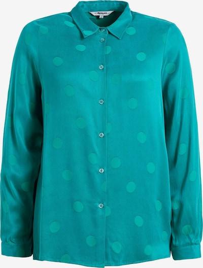 khujo Bluse 'LARISA' in blau / türkis / grün, Produktansicht