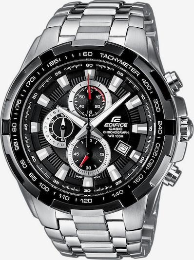 CASIO Chronograph 'Edifice' in schwarz / silber, Produktansicht