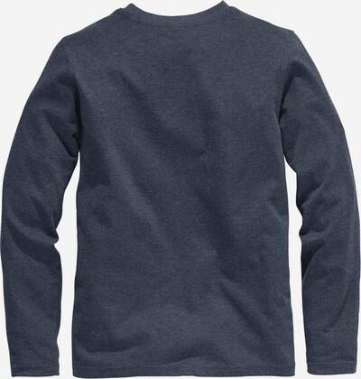 BENCH Langarmshirt in marine, Produktansicht