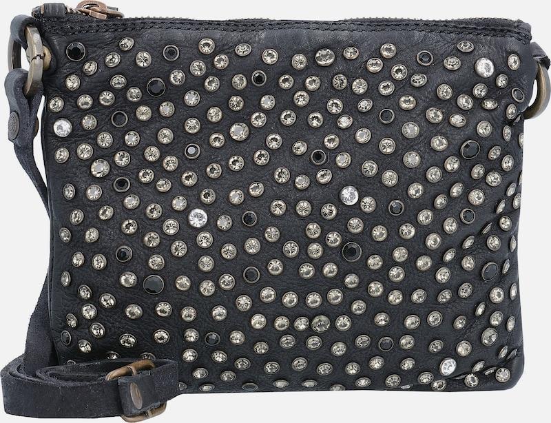 Campomaggi Bustino Piatto Mini Bag Umhängetasche Leder 19 cm