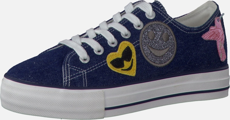 TAMARIS Plateausneaker mit Patches