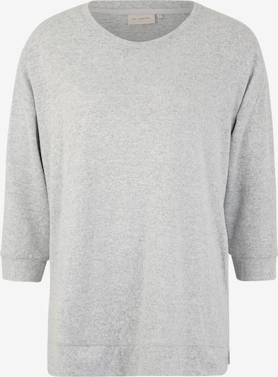 ONLY Carmakoma T-Krekls 'Lyncis' pieejami raibi pelēks / balts, Preces skats