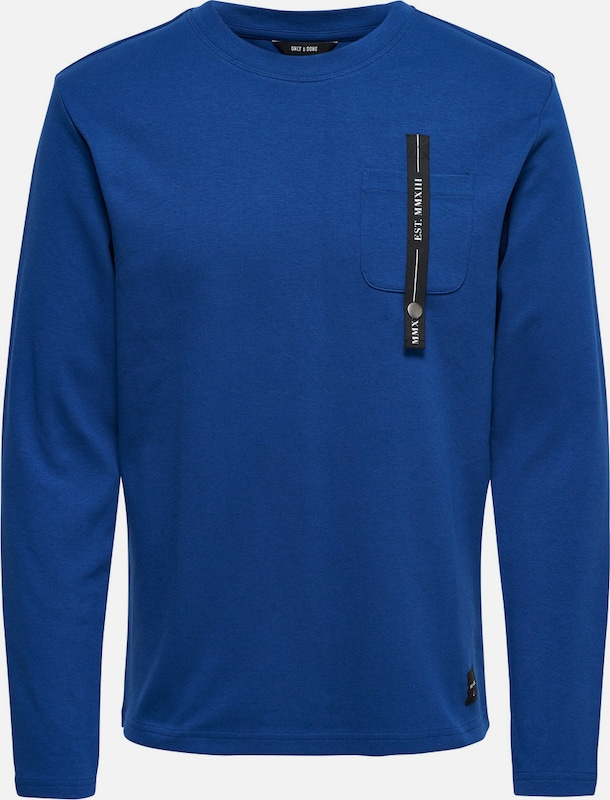 Only & Sons Detailliertes Sweatshirt