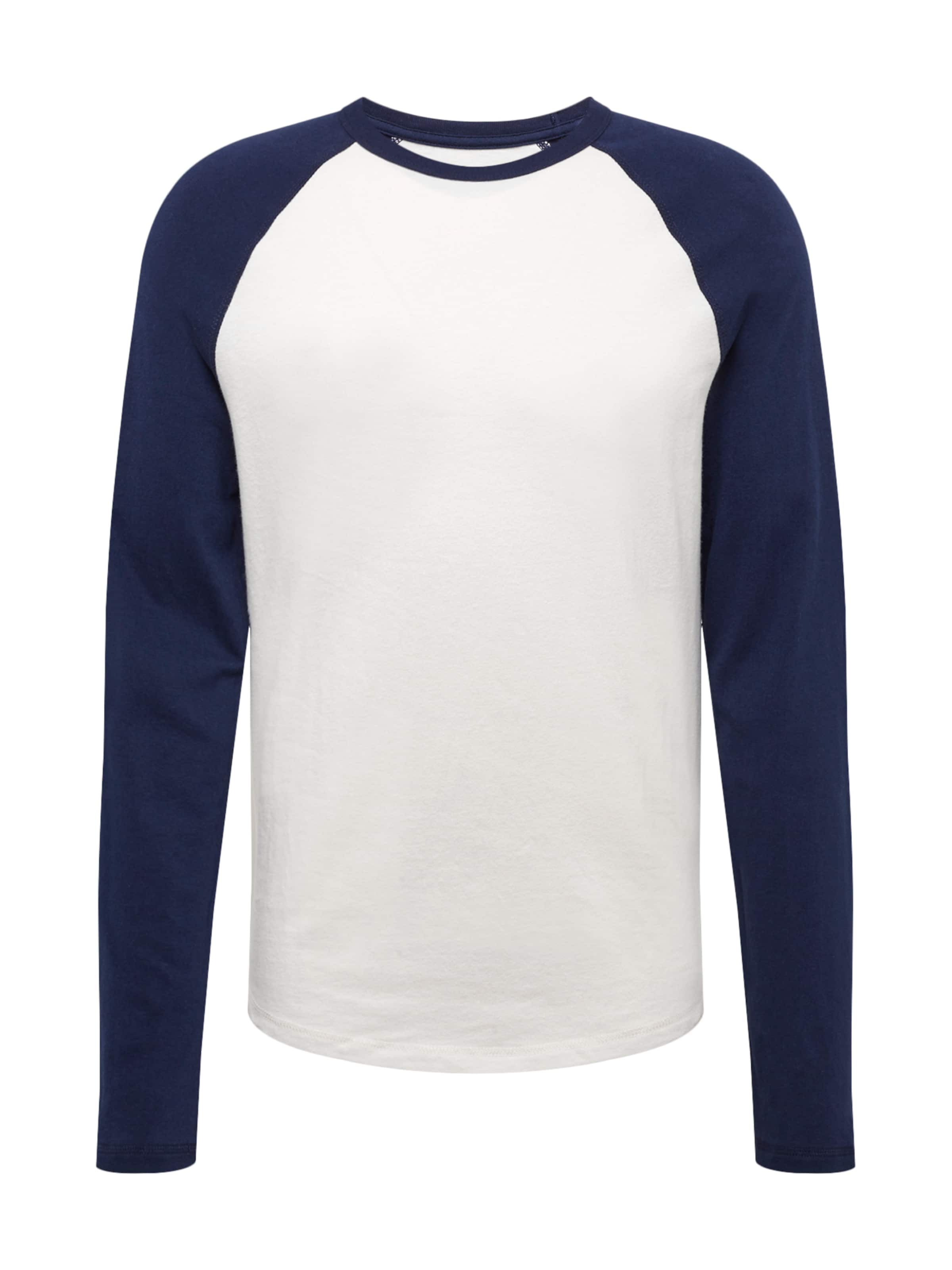 T Sueded En shirt Bleu 'v Bbll' ls Gap MarineRouge KJ3cTlF15u