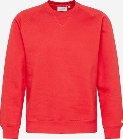 Carhartt WIP Sweatshirt 'Chase' in rot, Produktansicht