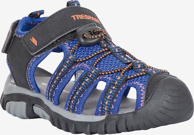 TRESPASS Sandalen in blau / orange / schwarz, Produktansicht