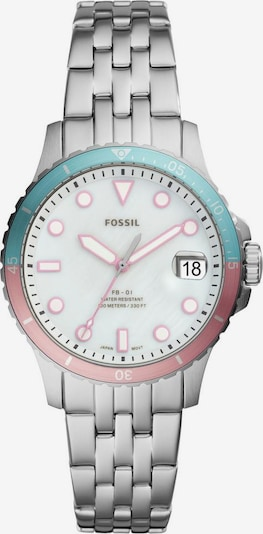 FOSSIL Uhr in mint / rosa, Produktansicht