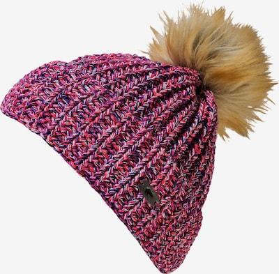 Eisbär Mütze in mischfarben / pinkmeliert, Produktansicht