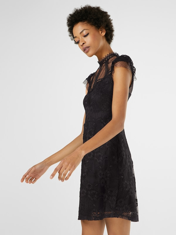 New Look Dress With Lace And Braid