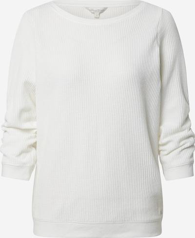 TOM TAILOR DENIM Sweatshirt in offwhite, Produktansicht